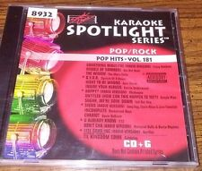 Sound Choice Karaoke CDG's Pop Hits Misc Vol's New Unopened and opened