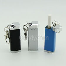 Mini Portable Metal Cigarette Ashtray Ash Holder Travel Pocket Keychain Gift