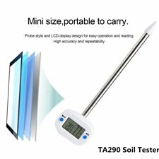 TA290 Soil Tester Digital LCD Display Temperature Humidity Meter With ProBE
