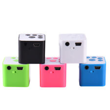 MP3 Player Support 32GB Micro SD/TF Card Music Media Mini Speaker + Headphone