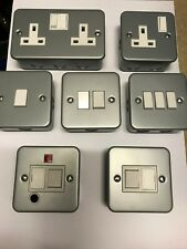 Metal Clad Sockets , Switches & Accessories - Click - DISCOUNT  - LOW PRICES