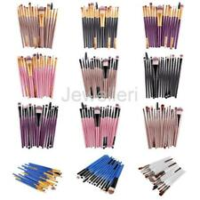 15pcs Eyeshadow Eyeliner Makeup Kit Eyebrow Foundation Brush Tool Cosmetics Set