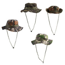 Men Women Durable Camo Bucket Boonie Hat Cap Hunting Hiking Fishing Camping
