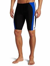 Speedo Men's Sonic Splice Jammer Endurance III Competitive Swimsuit Retail $52