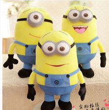 New Despicable Me Plush Minion Soft Toy Stuffed Cuddly Teddy Doll Character Toys