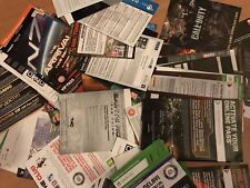 Various xbox one/Xbox 360 & PS4/PS3 codes - 100s of codes!! [choose from list]