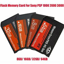 Memory Stick MS Pro Duo Flash Memory Card 16/32GB For Sony PSP/Cybershot Camera