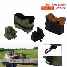 2 Piece Front & Rear Rifle Air Gun Bench Rest Bag Hunting Target Shooting Bags
