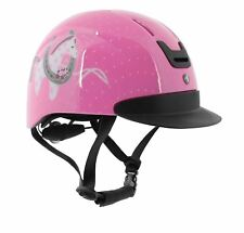 Horka Airstream 110100 Riding Equestrian Cartoon Kids Safety Horse Pony Helmet