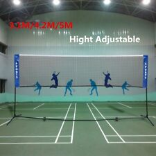 Portable 3.1/4.2/5M Badminton Net Volleyball Tennis Net With Frame Stand outdoor