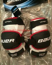 Bauer S17 1X Hockey Goalie Knee Guards! Senior SR JR All Sizes Thigh Pad Ice