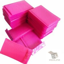 Pink Poly Bubble Padded Envelopes Self-Sealing Mailers 6X10 (Inner 6x9)