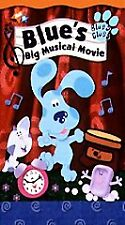 Blue's Clues - Blue's Big Musical Movie [VHS] by Steve Burns, Traci Paige Johns