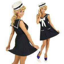 Sailor Costume 1950s Rockabilly Pin Up Clothing Fancy Dress 50s Outfit