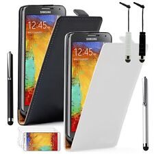 Protective Cover for Samsung Galaxy Note 3 N9000 Stylus Phone Flip Case
