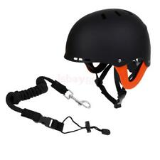 Kayak, Canoe, Boat, SUP Water Sports Safety Helmet - CE Approved + Paddle Leash