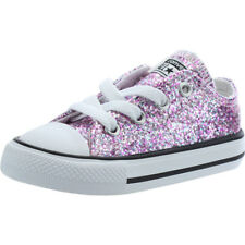Converse Chuck Taylor All Star Glitter Ox Frozen Lilac Synthetic Baby