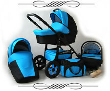 Baby Pram Pushchair Future 3in1 Stroller Buggy Travel System/Car Seat FREEBIES!