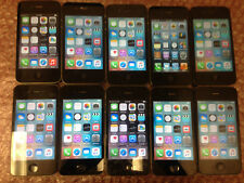 Lot of 10 Black Apple iPhone 4 & 4s 16 & 8GB Verizon & AT&T Smartphones