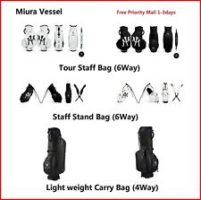 Miura Golf Limited Bag Tour or Stand Bag Collaboration with Vessel Golf 2017