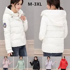 2017 New Women's short coat Fashion hooded down jacket warm winter parka EO