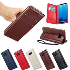 Luxury Shockproof Stand Flip Leather Wallet Case Cover For Samsung Galaxy Note 8