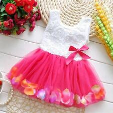 2017 Summer Baby Girl Dress Kids Baby Girls Clothing Dresses Beautiful Flower Dr