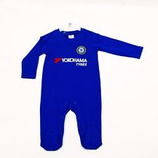 Chelsea Football Club Official 2017-18 Kit Baby Gift Sleepsuit Blue Sports CH700