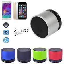 Wireless Bluetooth Metal HiFi Handsfree Bass Speaker with MIC and TF Slot For PC