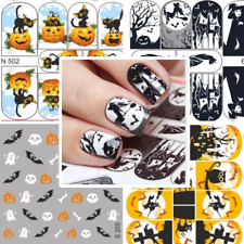 MILV Nail Art Water Transfers Decals Stickers Slider Desing Halloween