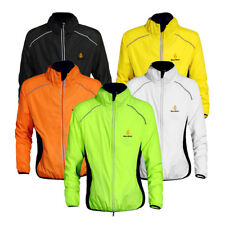 Cycling Jacket Jersey Riding Sport Running Bike Wind Coat Reflective Outwear