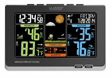 La Crosse Technology Wireless Atomic Digital Color Weather Forecast Station New