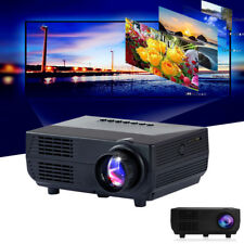 1920*1080P Mini Projector 150ANSI LM Portable Project w/ Speaker Home Theater SS