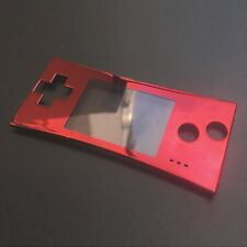 Replacement Front Faceplate Housing Shell Case for Nintendo Game Boy Micro GBM