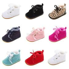 0-18M Fashion Baby Kids Boy Girl Winter Boots Toddler Soft Crib Shoes Sneaker US