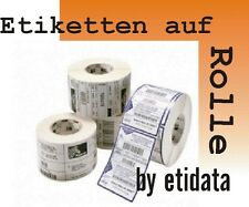 Zebra Z-Select 2000D Label Roll THERMOPAPER thermorollen102x76mm 800264-305