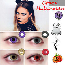 Coloured Contact Lens Crazy Halloween Color Contacts Big Circle Eyes Make-up GH