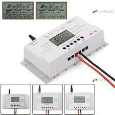LCD 10/20/30/40A 12V/24V MPPT Solar Panel Regulator Charge Controller 3 Timer ❀A
