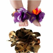 Super Cute Baby Infant Barefoot Shoes Flowers Sandals Socks - Color / Size