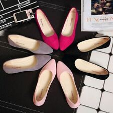 Fashion Women's Loafers Casual Shoes Crackle Ballet Flats Slip On Oxfords Shoes