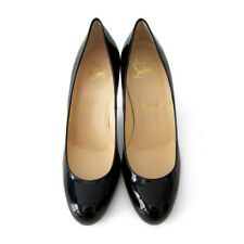 All time classic Christian Louboutin Black Simple Pumps 85 $ 675 - 36.5