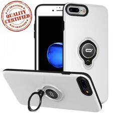 iPhone 8 Plus Case Protective With Ring Holder Kickstand Apple Hard Cover 2017