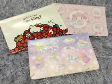 My Melody Little Twins Stars Hello Kitty Passport Cover Coat Card Storage Ticket