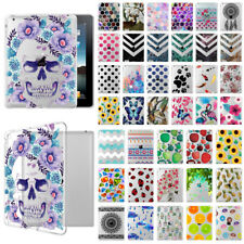 For Apple iPad 4 / iPad 3 / iPad 2 Shock Absorbing TPU Silicone Clear Case Cover