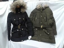 ROCAWEAR CLASSIC LADIES BELTED PUFFER COAT WITH REMOVABLE HOOD REG/PLUS NWT