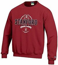Stanford Cardinal Cardinal Football Powerblend Screened Crew Sweatshirt by Champ