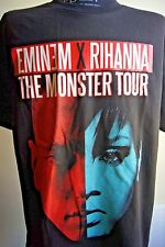 Eminem X Rihanna The Monster Tour 2014 Concert T-Shirt Black - S, M, L, XL, 2XL