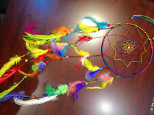 """Handmade Dream Catcher with Feather Wall Hanging Decoration Ornament-25"""" Long"""