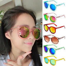 Womens Retro Fashion Vintage Round Sunglasses Shades Eyewear Eye Glasses UV400