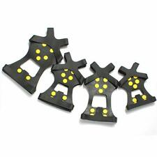 Shoe Studded Ice Grips Anti Slip Snow Shoes Crampon Winter Cleat Ski Accessories